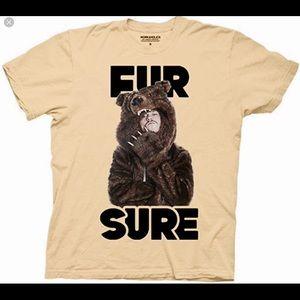 Other - Workaholics FUR SURE T-shirt